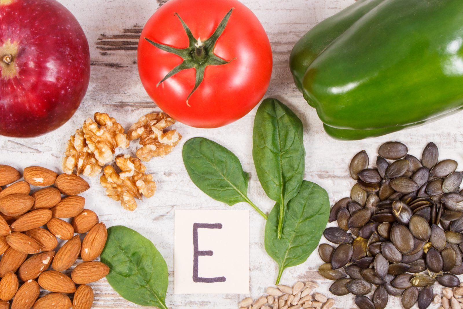 Vitamina para cachorro: grupo de alimentos ricos em vitamina E